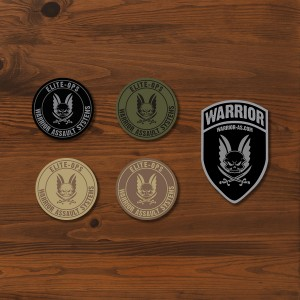 Warrior patches 01